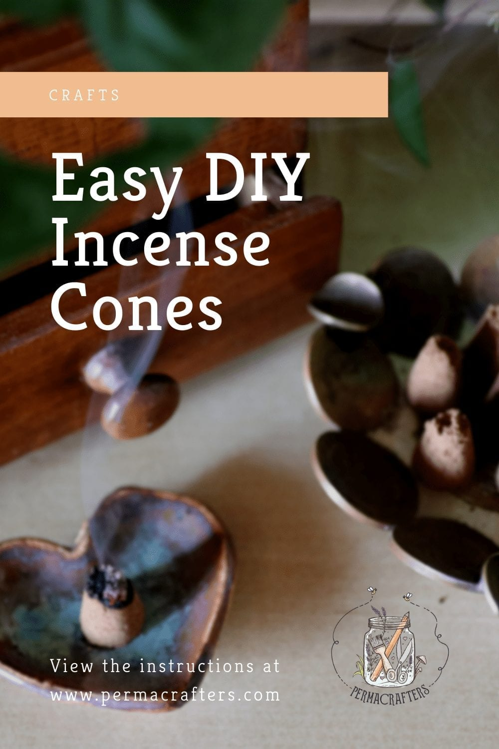 Easy DIY Incense Cones