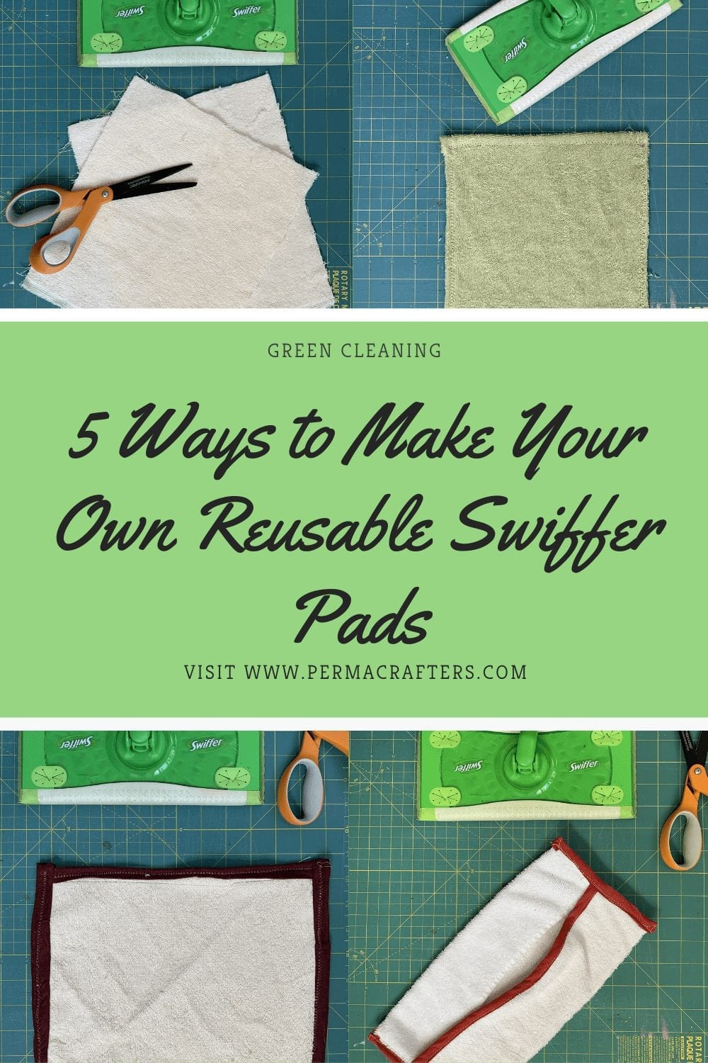 5 Ways to Make Your Own Reusable Swiffer Pads